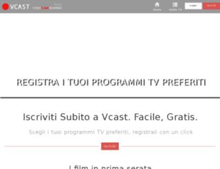 faucet.vcast.it screenshot