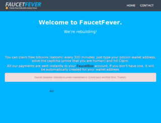 faucetfever.com screenshot