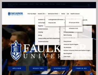 faulkner.edu screenshot