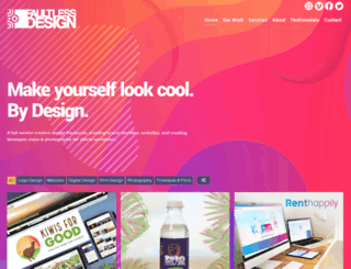 faultlessdesign.co.uk screenshot