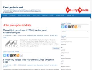 faultyminds.net screenshot