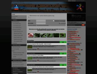 faune-paca.org screenshot