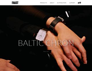 faustwatches.com screenshot