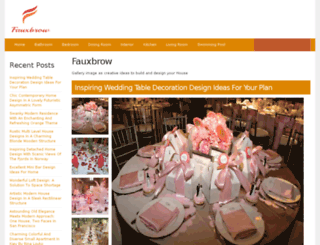 fauxbrow.com screenshot