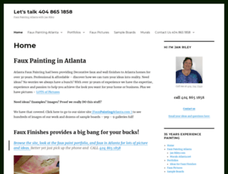 fauxpaintingatlanta.net screenshot