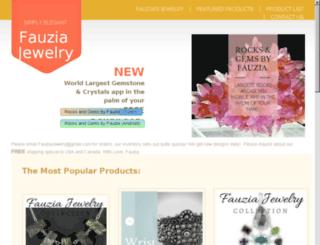 fauziajewelry.com screenshot