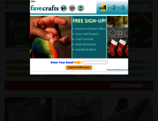 favecrafts.com screenshot