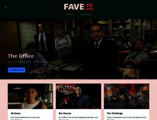 favetv.com screenshot