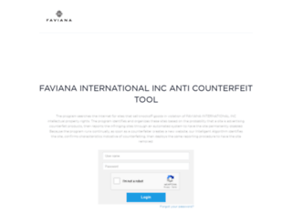 faviana.counterfeit.technology screenshot