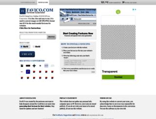 favico.com screenshot