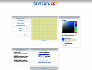 favicon.cc screenshot