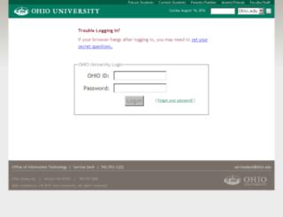 faview.ohio.edu screenshot