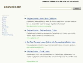 favor1.amanation.com screenshot
