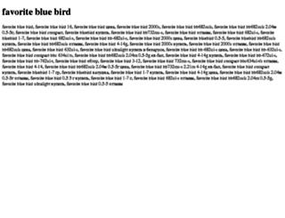favorite-blue-bird.tdsse.com screenshot