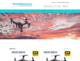 favoritedrones.com screenshot