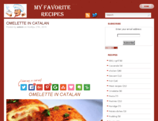 favouriterecipes.biz screenshot