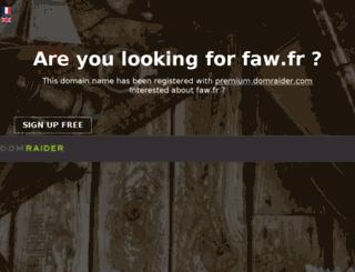 faw.fr screenshot