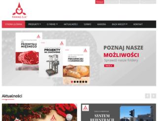 fawag.pl screenshot