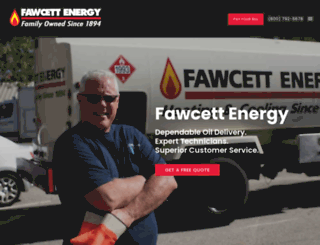 fawcettenergy.com screenshot