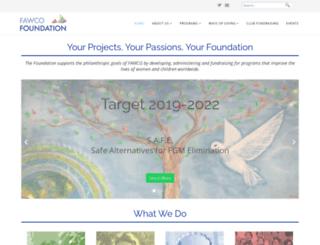 fawcofoundation.org screenshot