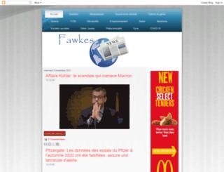 fawkes-news.blogspot.ca screenshot