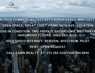 fawnrealty.com screenshot