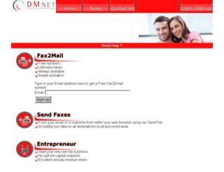 faxwhiz.com screenshot