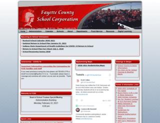 fayettein.schooldesk.net screenshot