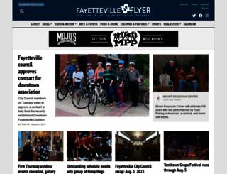 fayettevilleflyer.com screenshot