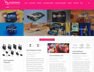 fazedores.com screenshot