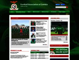 fazfootball.com screenshot