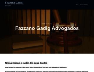 fazzanogadig.com.br screenshot