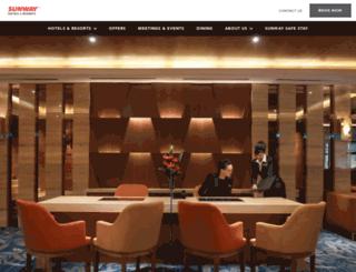 fbapps.sunwayhotels.com screenshot