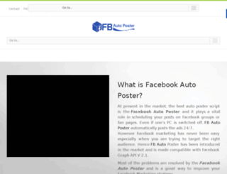 fbautoshare.com screenshot
