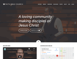 fbchurch.org screenshot