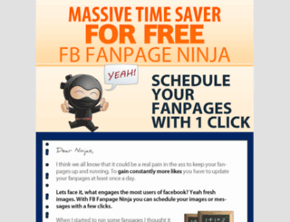 fbfanpageninja.com screenshot