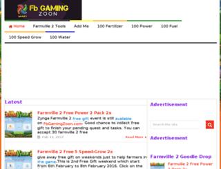 fbgamingzoon.com screenshot