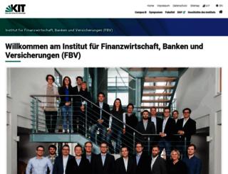 fbv.kit.edu screenshot