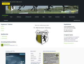 fc-wackerstein.de screenshot