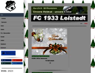 fc1933leistadt.de screenshot