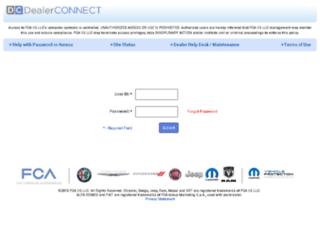 fcaceireporting.com screenshot