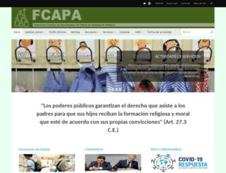 fcapa-valencia.org screenshot