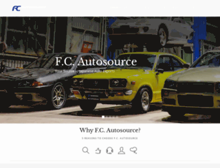 fcautosource.com screenshot