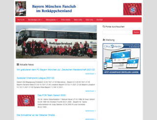 fcb-fanclub-rotkaeppchenland.de screenshot