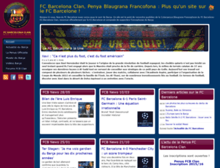 fcbarcelonaclan.com screenshot
