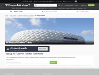 fcbayern.viagogo.de screenshot