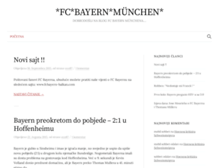 fcbayernmeister.blogger.ba screenshot