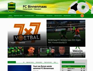 fcbinnenmaas.nl screenshot