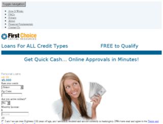 fccrloans.com screenshot