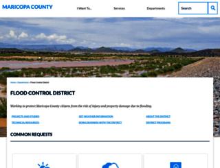 fcd.maricopa.gov screenshot
